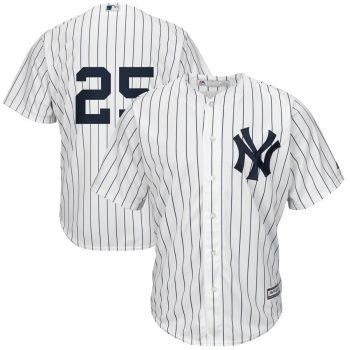 Gleyber Torres New York Yankees Majestic Official Cool Base Jersey – White