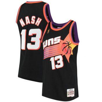 Steve Nash Phoenix Suns Mitchell & Ness 1996-97 Hardwood Classics Swingman Jersey - Black