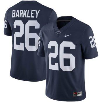 Saquon Barkley Penn State Nittany Lions Nike Alumni Player Game Jersey - Navy